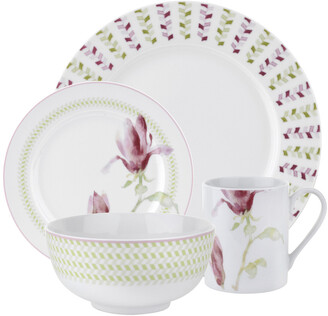 Spode Home Magnolia Haze 16Pc Dinnerware Set