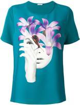 P.A.R.O.S.H. face print T-shirt