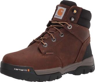 "Carhartt Men's Ground Force 6"" Waterproof Soft Toe Boot CME6047 Construction"