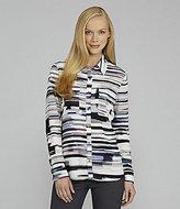 Calvin Klein Printed Pocket Blouse