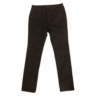 Mulberry Black Cotton Trousers