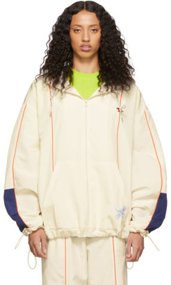 MAISON KITSUNÉ Off-White ADER error Edition Line Zip-Up Hoodie Jacket