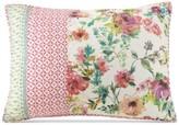 Jessica Simpson Boho Garden Cotton Quilted Standard Sham