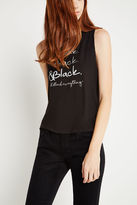 BCBGeneration All-Black Muscle Tank - Black