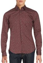 Burberry Southbrook Leaf Graphic Sportshirt