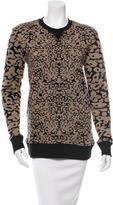 Rag & Bone Printed Crew Neck Sweater