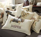 Pottery Barn Personalized Painted Dog Pillow Covers
