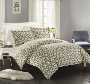 Chic Home Elizabeth 9 Pc Queen Bed In a Bag Duvet Set Bedding