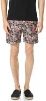 Club Monaco Floral Baxter Shorts