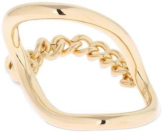 Maison Margiela Bangle Bracelet W/ Chain