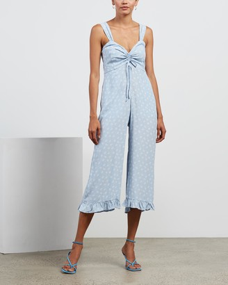 Faithfull The Brand Women's Blue Jumpsuits - Zuri Jumpsuit - Size S at The Iconic