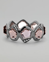 Ippolita Pave Diamond Smoky Quartz Ring