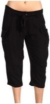 BCBGMAXAZRIA BCBGeneration - Long Pocket Pant (Black) - Apparel