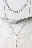 LuLu*s Infatuation Gold Layered Choker Necklace