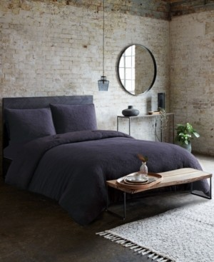 French Connection Evening Mist 3-Piece King Duvet Cover Set Bedding