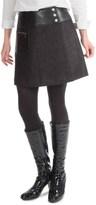 Barbour Blade Basket-Weave Skirt - Knee Length (For Women)
