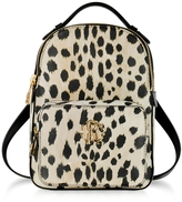 Roberto Cavalli Animal Printed leather Small Backpack