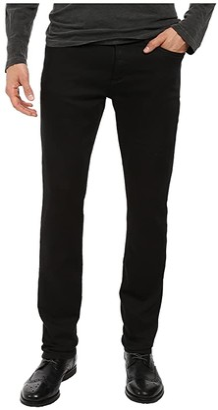 John Varvatos Bowery Jeans Zip Fly in Black J306S3B (Black) Men's Jeans