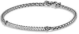 David Yurman Petite Pave Bar Metro Bracelet with Diamonds