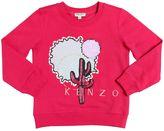 Kenzo Embellished Cotton Sweatshirt
