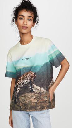 Stella McCartney Leopard Scene Jersey T-Shirt