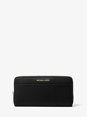 Michael Kors Saffiano Leather Continental Wallet