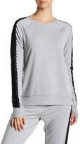 Nanette Lepore Lace Sweatshirt