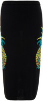 Nicole Miller Pineapple Intarsia Skirt