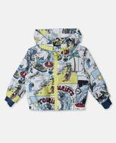 Stella McCartney scout all-over print jacket