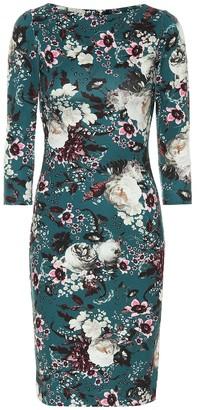 Erdem Floral stretch midi dress