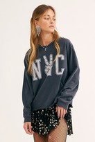 Original Retro Brand Nyc Peace Long Sleeve Tee by at Free People