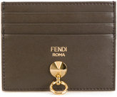 Fendi color block card holder