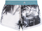 adidas by Stella McCartney Printed shell shorts