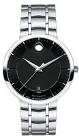 Movado Bold 1881 Automatic Stainless Steel Bracelet Watch/Black