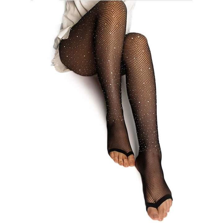 ac762d09b31f8 Black Sparkle Tights - ShopStyle Canada