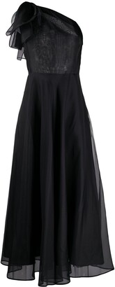 MSGM One Shoulder Gown