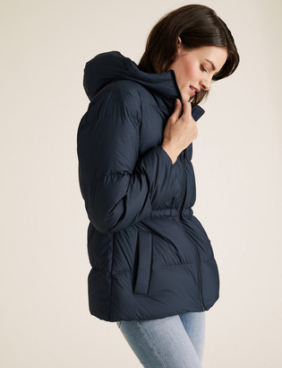 Marks and Spencer Feather & Down Waisted Puffer Jacket