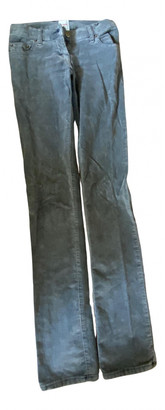 Sass & Bide Grey Cotton Trousers