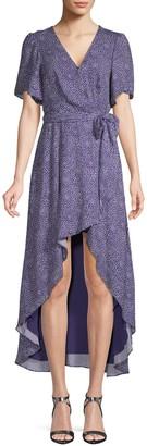 Parker Printed Wrap Dress