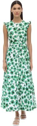 Borgo de Nor Gabriella Floral Print Poplin Dress