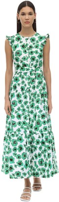 Borgo de Nor Gabriella Floral Print Poplin Dress