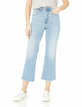 William Rast Women's High Rise Flare Crop Culotte