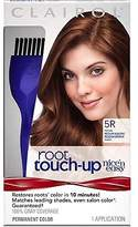 Clairol Nice 'n Easy Root Touch-Up 5R Kit (Pack of 2), Matches Medium Auburn/Medium Reddish Brown Shades of Hair Color, Covers Grey