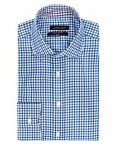 Jaeger Herringbone Check Slim Shirt