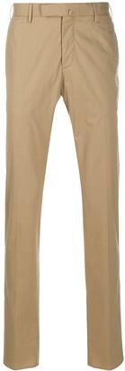 Incotex Slim Fit Stretch Cotton Poplin Trousers