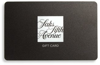 Saks Fifth Avenue The Classic Shopper Gift Card