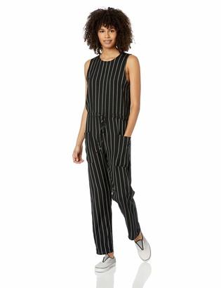 RVCA Women's POP Out Striped Tank Jumpsuit