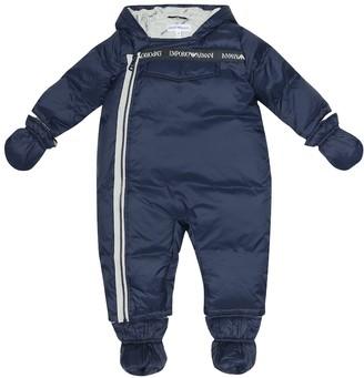 Emporio Armani Kids Baby snowsuit