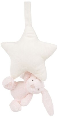 Jellycat Bashful Bunny Musical Star Pull Toy