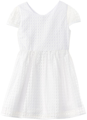 Milly Illusion Basketweave Lucy Dress